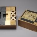 Joseph Hartwig Bauhaus Chess Set, 1920's