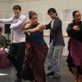 Rehearsal Ballet Nacional de España, Director José Antonio, Chapura Studios Madrid