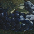 """Grapes Stellenboch"" 22 x 48 inches. oil on linen"