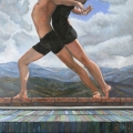 """""""Duet in the Land of Enchantment"""" 50 x 34 inches. oil on linen"""