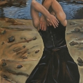 """""""Back to the Sea"""" 48 x 28 inches. oil on canvas"""