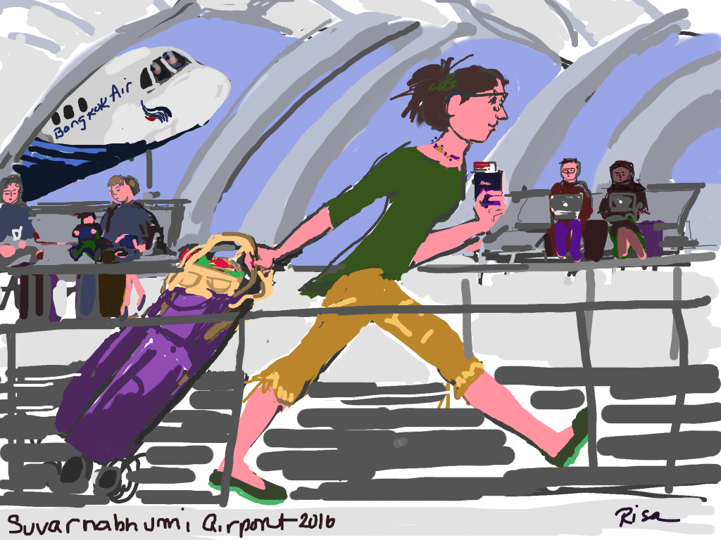 Suvarnabhumi Airport run